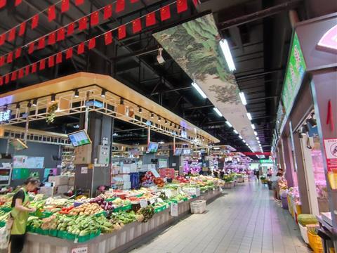 难得清闲,逛逛菜市场